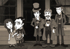 Cartoon: Buster Keaton (small) by ana001 tagged buster keaton our hospitality 1923 silent films