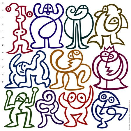 Cartoon: Rebellion Of Stickfigures (medium) by constable tagged human,humor,fun,colors,group,graphic,vector,