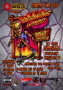 Cartoon: Burning Wood Bowl Contest (small) by elle62 tagged skateboard,contest,poster,funsport
