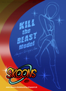 Cartoon: Kill the Beast (small) by elle62 tagged spacegirl,skateboard,sketch