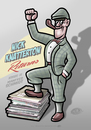 Cartoon: Nick Knatterton returns (small) by elle62 tagged comic,nick,knatterton,detektive,crime