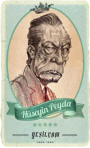 Cartoon: Hüseyin PEYDA (medium) by hakanarslan tagged huseyinpeyda