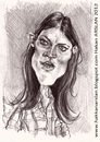 Cartoon: Debra MORGAN (small) by hakanarslan tagged dexter,debra,morgan,hakanarslan,karikatür,portre,caricature