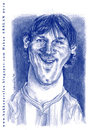Cartoon: Leo Messi (small) by hakanarslan tagged mesii,barcelona,caricature,hakanarslan,argentina,soccer,football