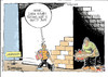 Cartoon: unemployment (small) by drmeddy tagged unempl