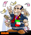 Cartoon: Berluskalendar (small) by DanLucifer tagged berlusconi,berluskalendar
