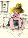 Cartoon: Madame (small) by LAINO tagged madame