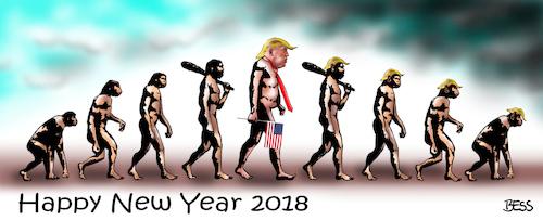 cartoon happy new year 2018 medium by besscartoon tagged happynew
