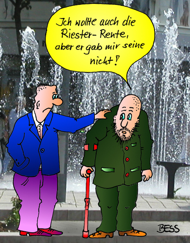 riester rente by besscartoon philosophy cartoon toonpool