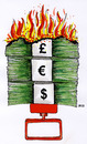 Cartoon: Basta (small) by besscartoon tagged geld,inflation,bankenkrise,krise,bank,geldvernichtung,finanzkrise,euro,dollar,pfund,bess,besscartoon