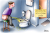 Cartoon: denk dran (small) by besscartoon tagged pinkeln,wc,toilette,klo,männer,urinieren,bess,besscartoon