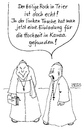 Cartoon: Heiliger Rock (small) by besscartoon tagged religion,kirche,katholisch,pfarrer,papst,vatikan,trier,bess,besscartoon