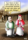 Cartoon: Internationale Spedition (small) by besscartoon tagged kirche,religion,pfarrer,kardinal,verein,petersplatz,katholisch,internationale,spedition,vatikan,laster,anhänger,bess,besscartoon