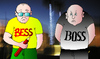 Cartoon: Kein Kommentar (small) by besscartoon tagged boss,bess,besscartoon