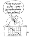 Cartoon: Kinder sind unser Kapital (small) by besscartoon tagged kapital,kinder,kapitalmärkte,manager,zukunft,krise,bess,besscartoon