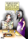 Cartoon: Wein-Fest (small) by besscartoon tagged weinfest,heulen,mann,frau,paar,liebe,ehe,alter,beziehung,bess,besscartoon