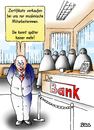 Cartoon: Zertifikate (small) by besscartoon tagged zertifikate,bank,muslime,islam,burka,verkaufen,geldinstitut,geld,aktienkurse,aktien,wertpapiere,betrug,finanzwelt,banken,damager,bankster,geldinstitute,bankberater,bess,besscartoon