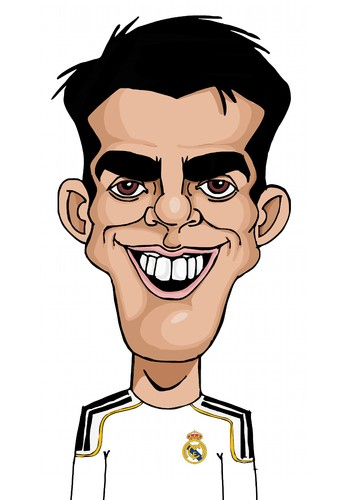 Cartoon: Kaka (medium) by Palmas tagged futbolista