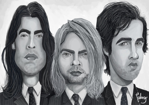 Cartoon: Nirvana (medium) by Palmas tagged nirvana
