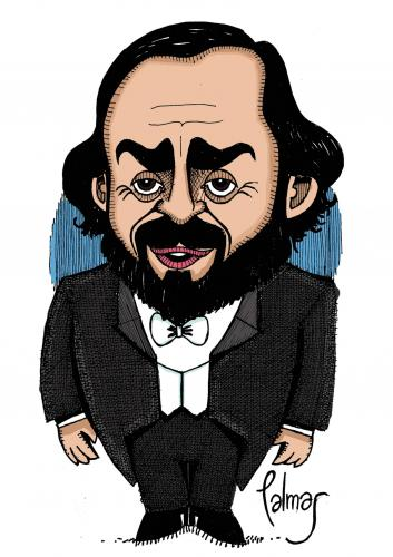 Privacy Policy >> Pavarotti By Palmas | Famous People Cartoon | TOONPOOL
