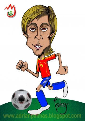 Cartoon: Torres (medium) by Palmas tagged eurocopa,2008