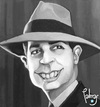Cartoon: Carlos Gardel (small) by Palmas tagged caricatura