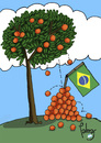 Cartoon: El Naranjo (small) by Palmas tagged sudafrica,2010