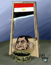 Cartoon: Guillotina (small) by Palmas tagged egipto