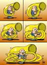 Cartoon: Musico (small) by Palmas tagged comic