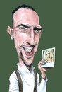 Cartoon: Frank Ribery (small) by Eno tagged frank,ribery,zahia,foot,caricature