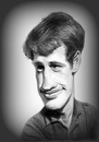 Cartoon: Jean Paul Belmondo (small) by Eno tagged belmondo,unsingeenhiver,bebel,jeune