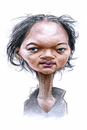 Cartoon: Rama Yade (small) by Eno tagged rama,yade,caricature