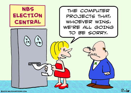 Cartoon: all be sorry elected computer (medium) by rmay tagged all,be,sorry,elected,computer