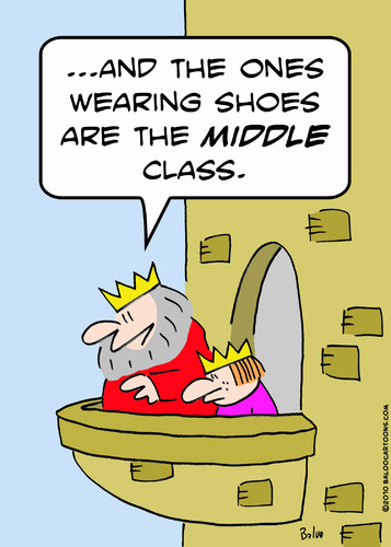 Cartoon: and wearing shoes middle class k (medium) by rmay tagged and,wearing,shoes,middle,class