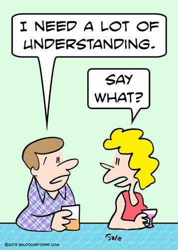 Cartoon: bar need lot understanding (medium) by rmay tagged bar,need,lot,understanding