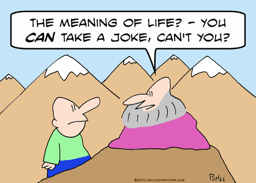 Image result for life is a joke cartoon