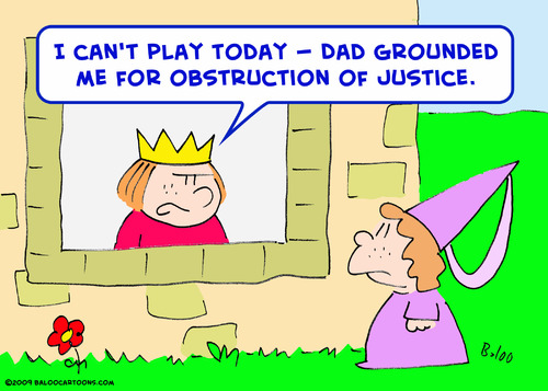 Cartoon: Cant play king prince obstructio (medium) by rmay tagged cant,play,king,prince,obstruction,of,justice