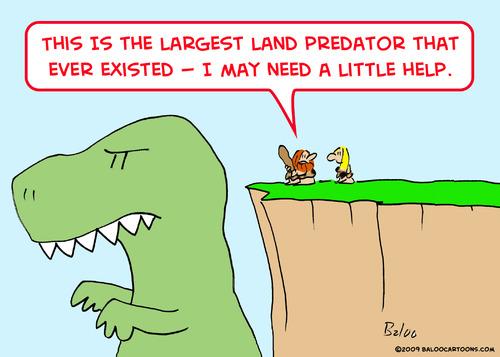 caveman dinosaur need help By rmay | Nature Cartoon | TOONPOOL
