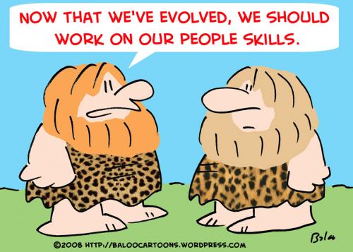 Caveman Quiz : Caveman people skills by rmay nature cartoon toonpool