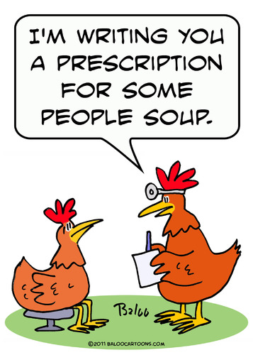 Chicken Doctor People Soup By Rmay Nature Cartoon Toonpool