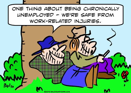 Cartoon: chronically unemployed bums (medium) by rmay tagged chronically,unemployed,bums