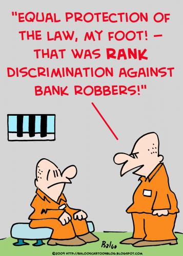 Racial Discrimination cartoon
