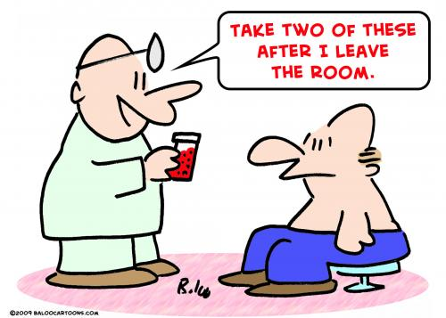 Cartoon doctor patient leave room medium by rmay tagged doctor