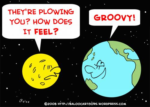 Cartoon Pictures Of The Earth. Cartoon: EARTH MOON PLOWING