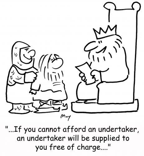 Cartoon: free undertaker (medium) by rmay tagged free,undertaker,king