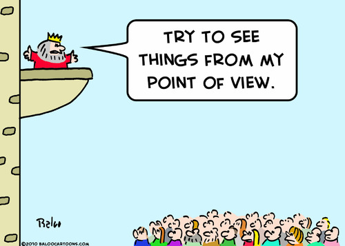 Cartoon: from my point of view king (medium) by rmay tagged from,my,point,of,view,king
