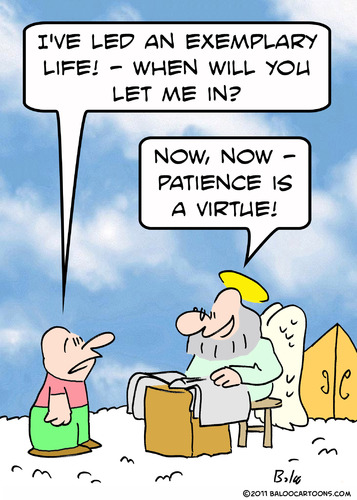 my ass cartoon patience