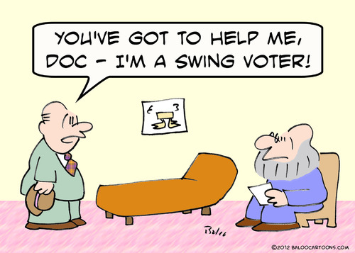 Cartoon: help doc swing voter (medium) by rmay tagged help,doc,swing,voter