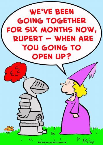 Cartoon knight open up medium by rmay tagged knight open up