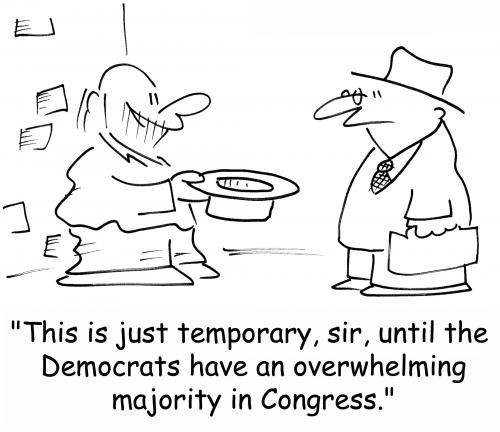 Cartoon: majority in congress (medium) by rmay tagged majority,in,congress